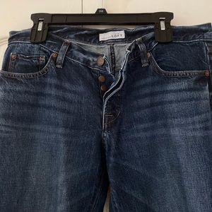 Loft Ann Taylor boyfriend jeans